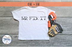 Mr Fix It - A Tool Font for Handy Men and Women Product Image 3
