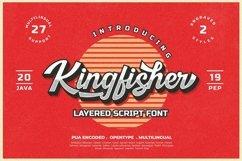 Kingfisher Layered Font Product Image 1