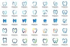 Set of Dental Logo Product Image 1