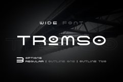 Tromso - Wide Font Product Image 1