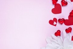 Valentine's day or Wedding romantic concept with hearts Product Image 1