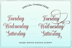 Kathia Script Product Image 5
