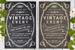 Vintage Chalk and Foil Flyer Bundle Product Image 1