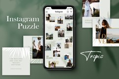 Instagram Puzze Template, Canva, Bloggers Instagram Grid Product Image 1