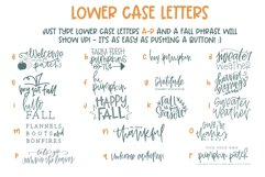 Fall Phrases - SVG and Symbols Font Product Image 4