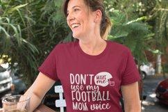 Football mom svg bundle png eps dxf - football mom life svg Product Image 6
