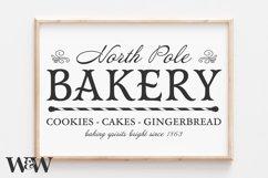 North Pole Bakery SVG |Christmas SVG Product Image 1