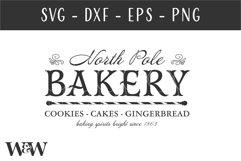 North Pole Bakery SVG |Christmas SVG Product Image 3