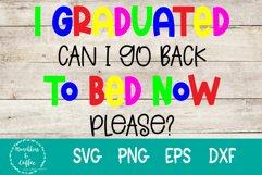 I graduated SVG Sublimation Product Image 1
