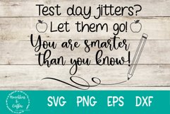 Test Day Jitters- SVG Product Image 1
