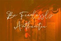 Web Font Marigold - Beauty Signature Font Product Image 3