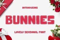 Web Font Bunnies Font Product Image 1