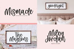 Modern Farmhouse Font Bundle - Fonts for Crafters Product Image 5