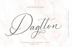 Dagtton - Wedding Calligraphy Font Product Image 1