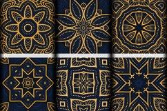 Luxury Mandala Pattern Tiles | Golden arabesque background Product Image 5