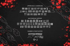 SENBONZAKURA Font Product Image 4
