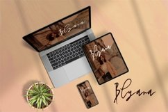 Web Font Shadira - A Beauty Handwritten Font Product Image 5