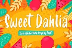 Sweet Dahlia Brush Font Product Image 1