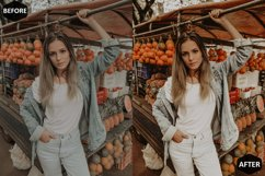 Pumpkin Photoshop Actions And ACR Presets, Fall preset Product Image 6