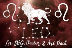 Leo Zodiac, Constellation, Horoscope, Celestial Pack Product Image 1