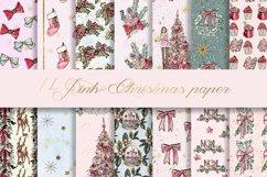 Christmas BUNDLE digital paper pattern Product Image 5