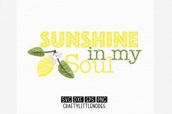 Lemons & Sunshine - Svg Bundle Product Image 5