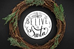 Hand lettered Christmas ornament designs Product Image 3