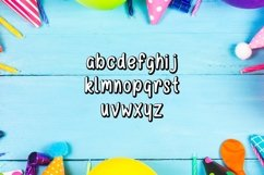 Web Font Happy Birthday Font Product Image 2