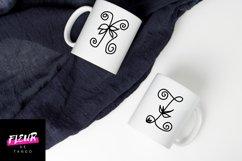 Flores mono - beautiful monogram floral font Product Image 4