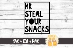 Mr Steal Your Snacks - Toddler SVG PNG DXF Cut Files Product Image 2