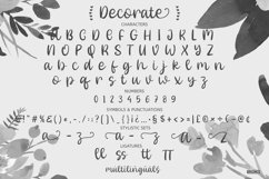 Decorate - Stylish Script Font Product Image 6