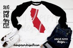 California Laces SVG - A Baseball SVG Product Image 1