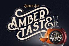 Amber Taste Font, Label, Mockup! Product Image 1