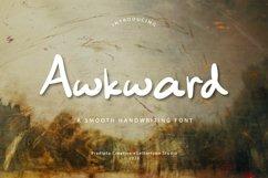 Awkward Handwriting Typeface Product Image 1
