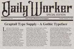 Jailetter Typeface Product Image 8