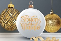 Buon Natale svg Italian Christmas Around the World Product Image 4