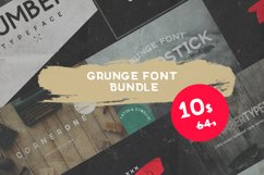 Grunge fonts Bundle Product Image 1