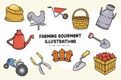 Farming Equipment illustrations Product Image 1