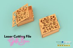 Gift Box - laser cutting file Product Image 1