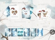 Christmas Animal Creator.Watercolor Dogs & Cats Product Image 3