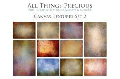 10 Fine Art Textures CANVAS - SET 2 Product Image 1