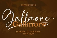 Gallmore // Chic Font Duo Product Image 1