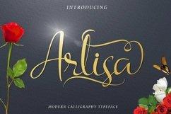 Web Font Arlisa Script Bonus Product Image 1