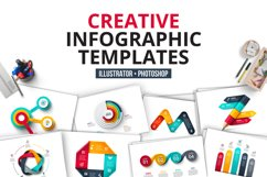 Creative infographics templates Product Image 1