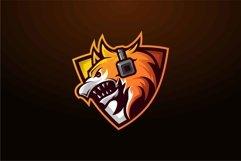 Wolf head logo design templates Product Image 1