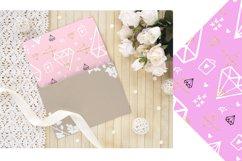 Love Digital Paper.Wedding, Valentines Day Digital Paper Product Image 3