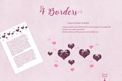 All Hearts Clipart Set Product Image 3