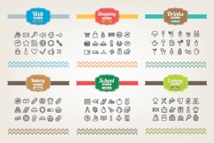 83 Off - Hand Drawn Icons Bundle Product Image 5