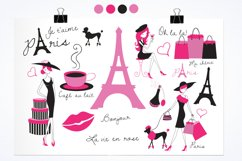 Paris Je T'Aime graphics and illustrations Product Image 2