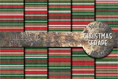 Christmas Serape Fabric Digital Papers Product Image 1